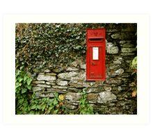 Victorian Postbox Art Print