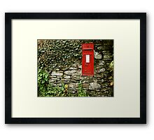 Victorian Postbox Framed Print