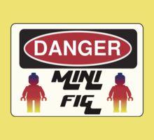 Danger Minifig Sign Kids Tee
