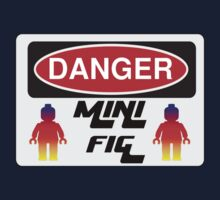 Danger Minifig Sign Kids Tee