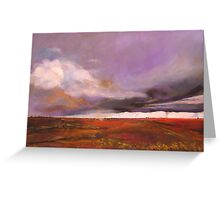 Impending storm via Camooweal Qld with twisters Greeting Card