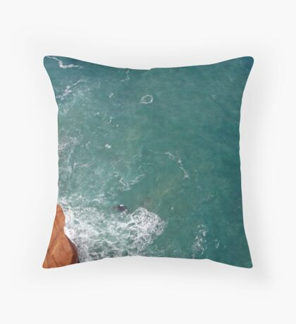 Southern Blue Throw Pillow