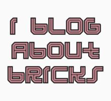 I BLOG ABOUT BRICKS by Customize My Minifig