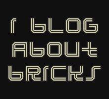 I BLOG ABOUT BRICKS One Piece - Long Sleeve