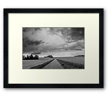 Landscape: 'The Long Road Home' Framed Print
