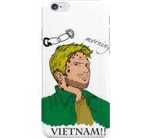 Lucifer Balck On White - Good Moring Vietnam iPhone Case/Skin