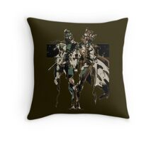 Metal Gear Solid - Solid & Liquid Throw Pillow