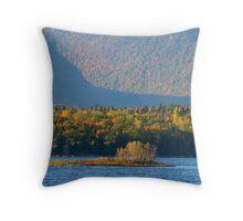 Little Island Throw Pillow