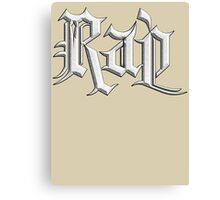 Rap Music Stone Canvas Print