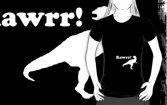 rawrr - black by Imogene Munday