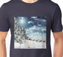 Snowdrop the Maltese - Sleigh Bells Ringing ! Unisex T-Shirt