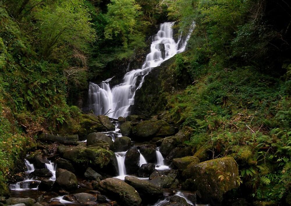 Torc Falls, Ireland by David James