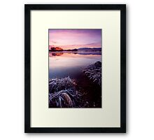 Frozen Pastels Framed Print