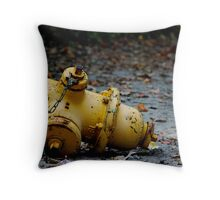 Hydrant Throw Pillow