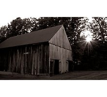 Barn Photographic Print