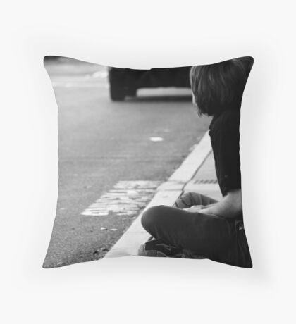 Candid 2 Throw Pillow
