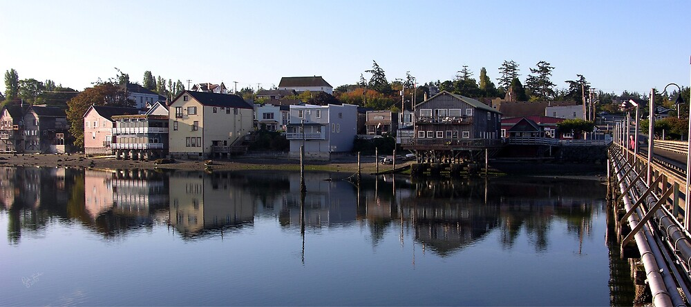 Coupeville Reflection by Rick Lawler
