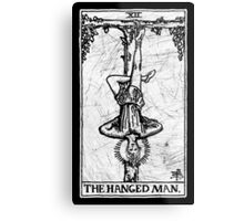 The Hanged Man Tarot Card - Major Arcana - fortune telling - occult Metal Print