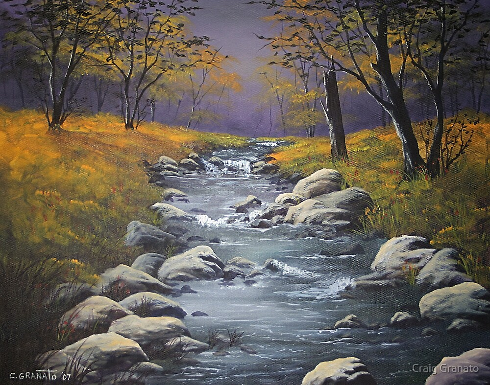 Fall Stream by Craig Granato