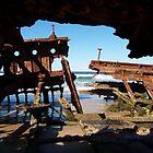Sea-thru shipwreck by lols