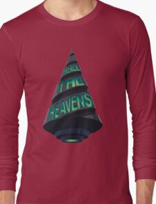 Pierce The Heavens with your drill! Long Sleeve T-Shirt