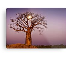 Twilight Moonlight Metal Print