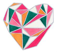 Faceted Heart by bridgetdav