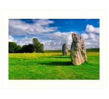 Avebury Days - Standing Stones of Britain Art Print