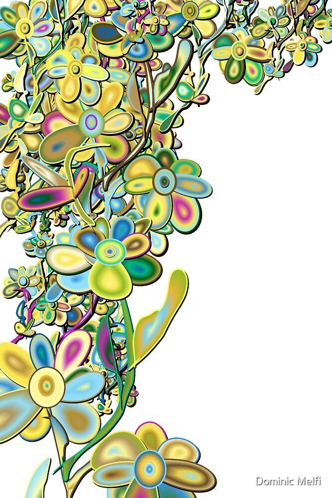 Floral Design Fashion Colors by Dominic Melfi