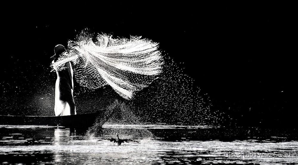 art of fishing 3 by Gideon du Preez Swart