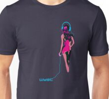 Headphones Girl Unisex T-Shirt