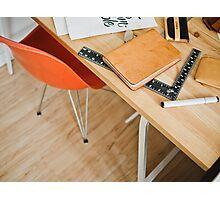 Designer desk Photographic Print
