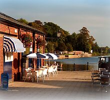 Tea at the Quay by Charmiene Maxwell-Batten