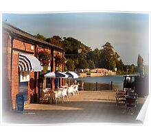 Tea at the Quay Poster
