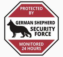 German Shepard Security - DETER BURGLARS by chrisgchadwick