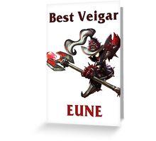 Best Veigar EUNE Greeting Card