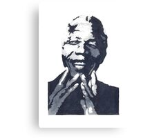 Nelson Madiba Mandela Canvas Print