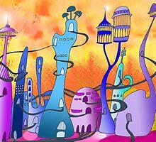 Alienland  by junocreations