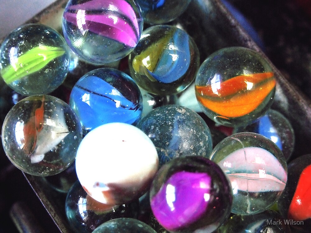 Losing Your Marbles by Mark Wilson