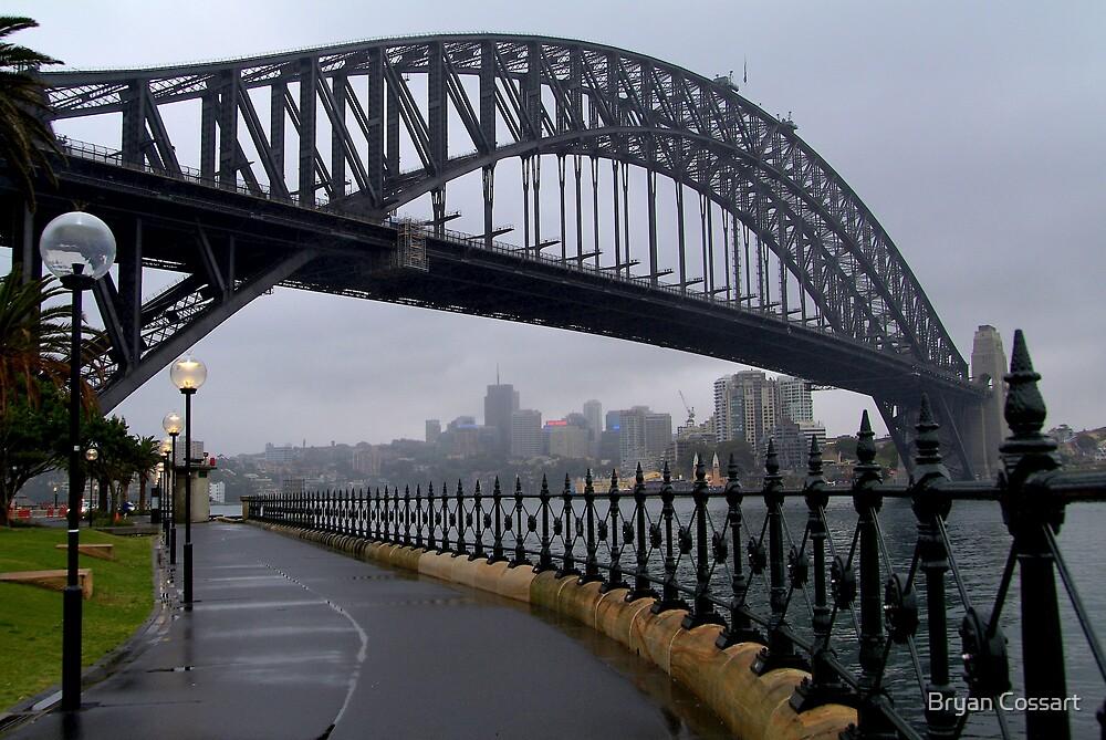 Sydney Harbour Bridge by Bryan Cossart