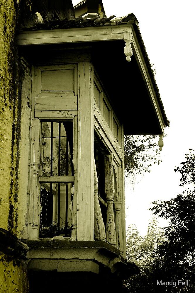 Old window by Mandy Fell