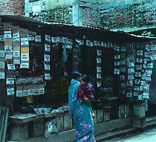 Nepalese Spice Stall by misshayleyjane