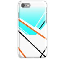 Breeze Urban Abstract Harbour Minimalist Landscape Blue White iPhone Case/Skin