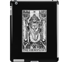 The Hierophant Tarot Card - Major Arcana - fortune telling - occult iPad Case/Skin