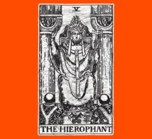 The Hierophant Tarot Card - Major Arcana - fortune telling - occult Kids Clothes