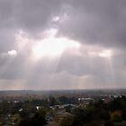 Sun Spilling Through Clouds by Billie Bullock