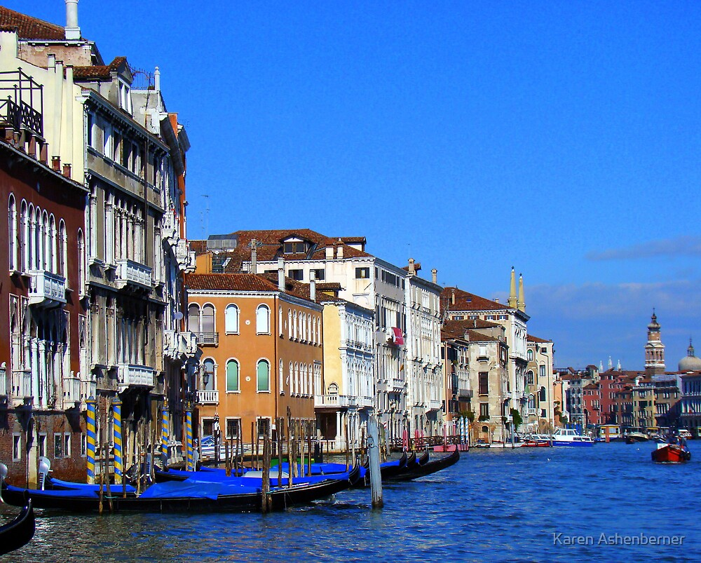 On The Water in Venice by Karen Ashenberner