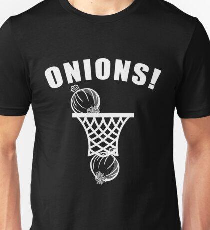 onions basketball tshirt onion balls t-shirt Unisex T-Shirt
