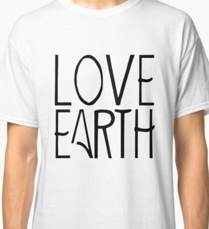 Love Earth | Globetrotter Classic T-Shirt