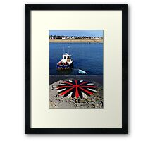 Heading North West Framed Print